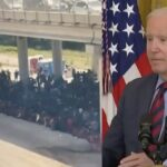 [VIDEO] It Goes Bad When Biden Tries to Explain Why Non-Vaccinated/Non-Tested Migrants Are Flowing Over the Border
